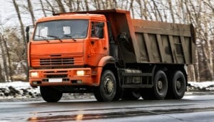road rage at a dump truck and my depression