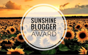 my concealed depression was nominated for the Sunshine Blogger Award