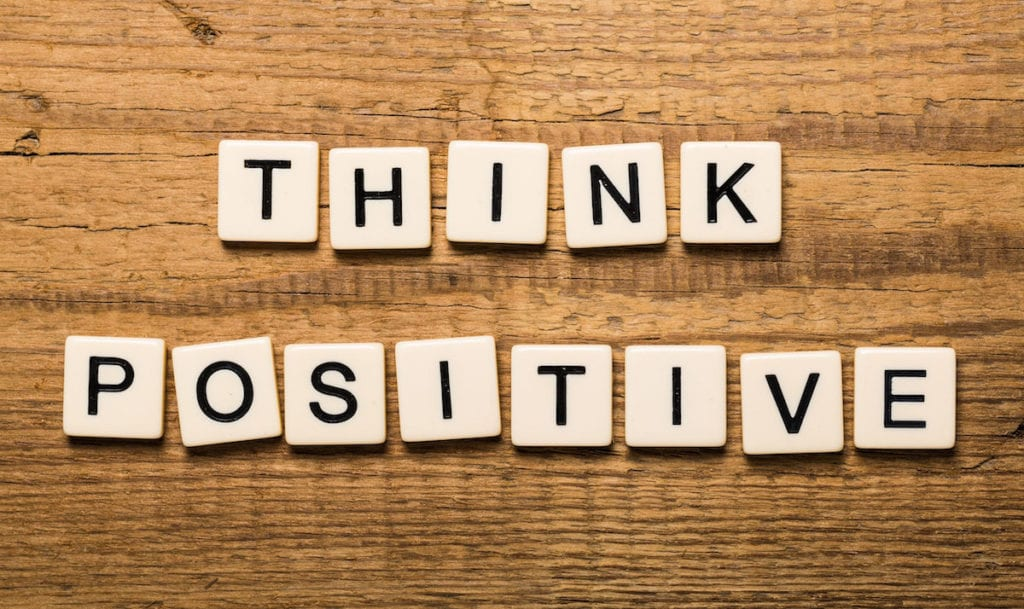 Positive affirmations help me lead a balanced life with depression