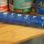 I use a sevne da pill caddy to take my Prozac