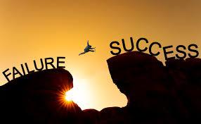 Success minus failure equals me