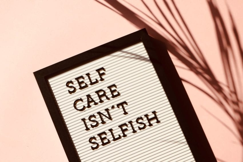 self care is important even if you are non-essential