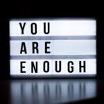 My psychiatris asked me, when is enough, enough?